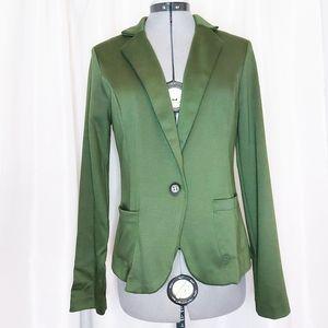Charlotte Russe Green Blazer Size M